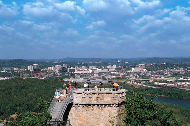 Ruby Falls Lookout Mountain Chattanoogo Tennessee