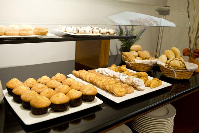 Palacio San Martin Madrid ontbijt