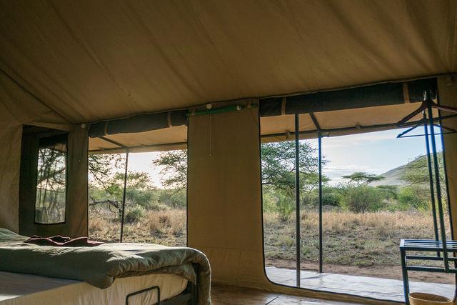 Rondreis Tanzania Serengeti uitzicht