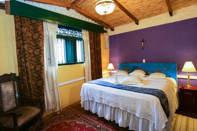 Rondreis Colombia Ricaurte Villa de Leyva Posada de San Antonio 2-persoonskamer