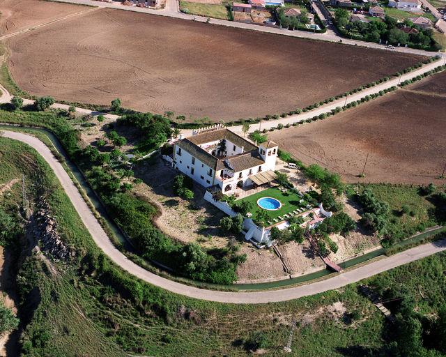 Hacienda el Santiscal Arcos de la Frontera luchtfoto