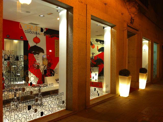 Dormirdcine Madrid ingang