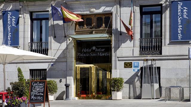 Palacio San Martin Madrid gevel