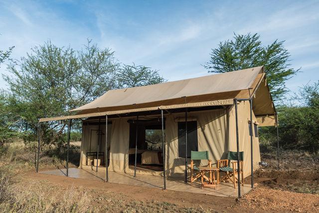 Rondreis Tanzania Serengeti family tent