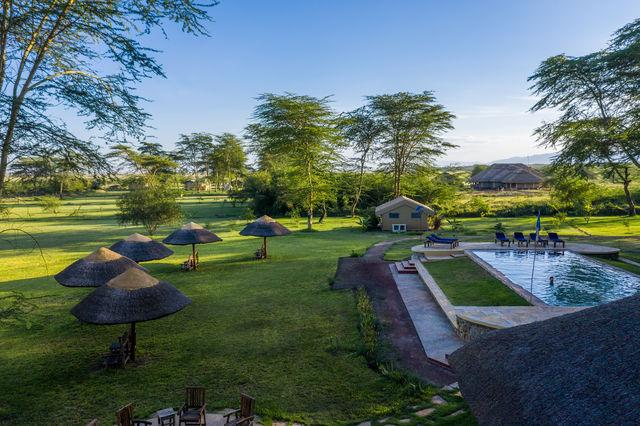 Rondreis Tanzania Lake Manyara overview