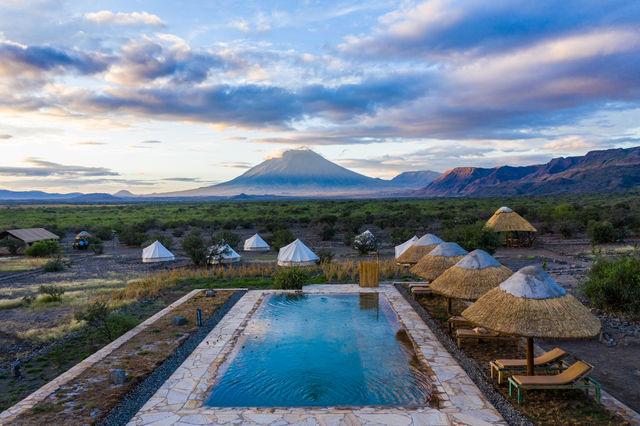 Rondreis Tanzania Lake Natron view