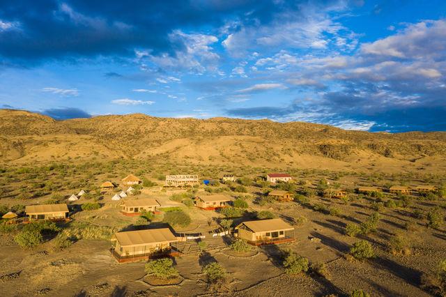 Rondreis Tanzania Lake Natron luchtfoto