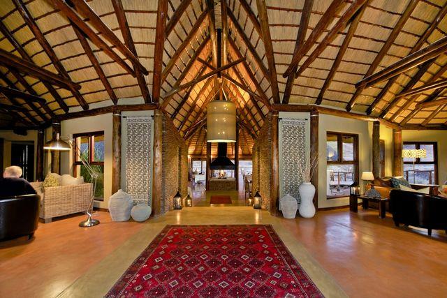Rondreis Namibie Hoodia Desert Lodge hal