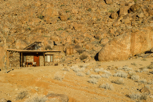 Rondreis Namibie Klein Aus Eagles Nest chalet