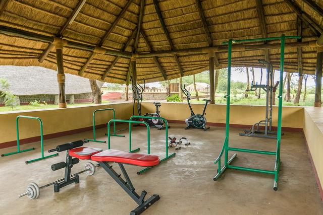 Rondreis Tanzania Lake Manyara gym