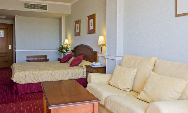 Palacio San Martin Madrid kamer