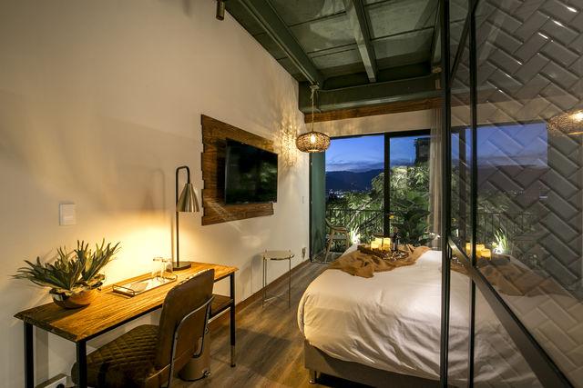Rondreis Colombia Antioquia Medellin Casa Celestino boutique design inrichting slaapkamers