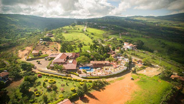 Rondreis Colombia Santander Barichara Terre Barichara luchtfoto