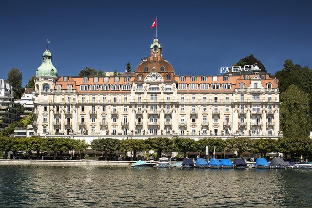 Palace Hotel Luzern gevel