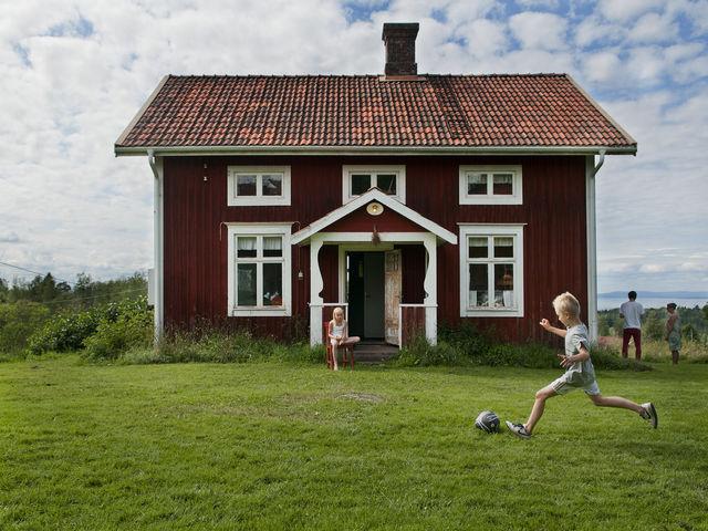 Kinderen voetbal Zweden