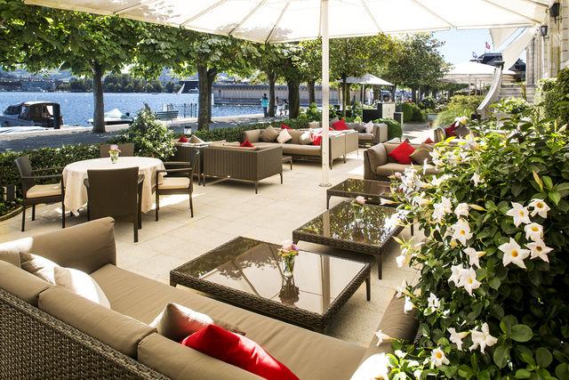 Palace Hotel Luzern terras