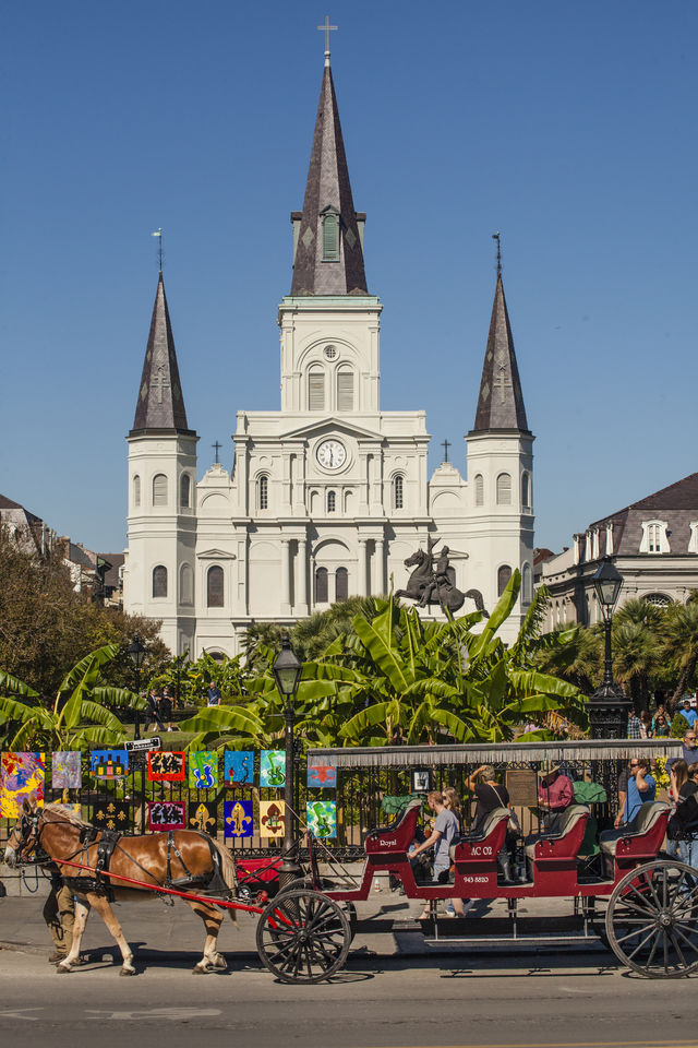 St. Louis Kathedraal Jackson Square New Orleans Louisiana