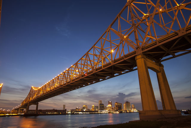 Brug Crescent City New Orleans Louisiana