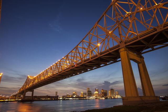 Brug Crescent City New Orleans Louisiana