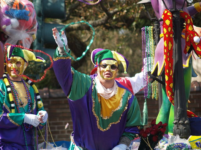 Mardi Gras New Orleans Louisiana