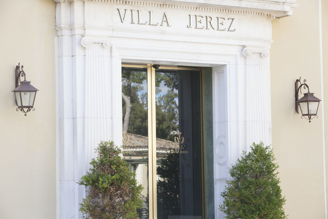 Villa Jerez Jerez de la Frontera ingang