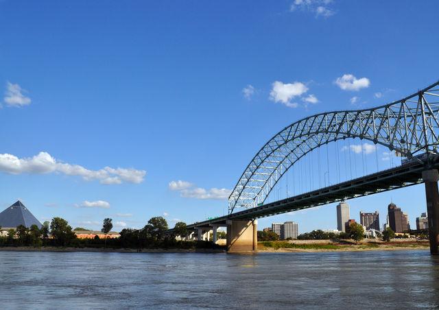Hernando DeSoto brug Memphis Tennessee