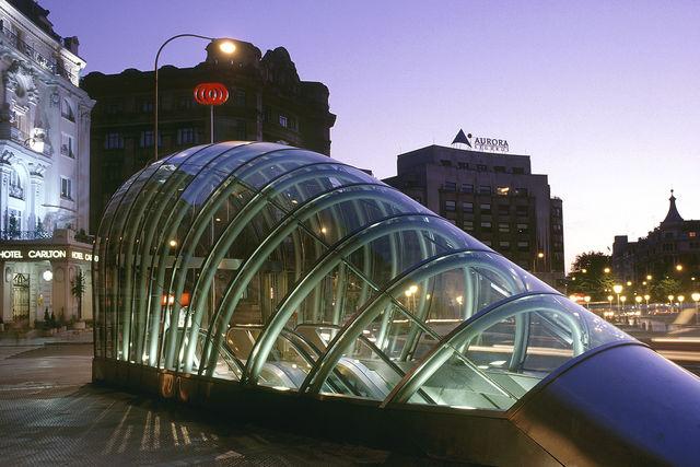 Bilbao metro Baskenland metro