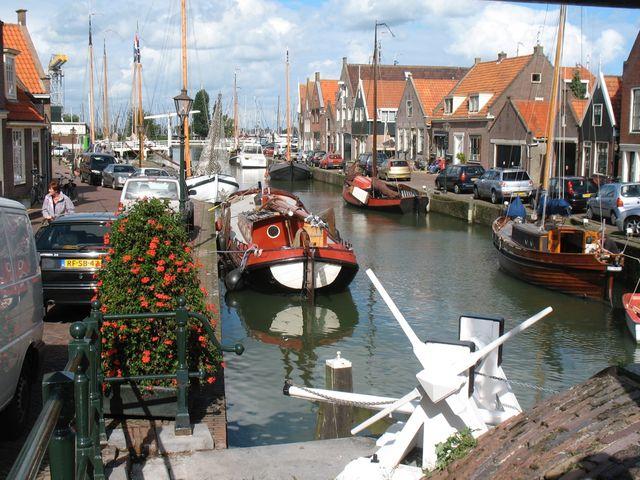Binnenhaven Monnickendam Noord-Holland Nederland