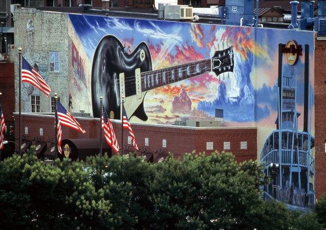 Broadway Hard Rock Café Nashville Tennessee