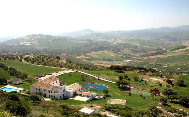 Fuente de Sol Antequera luchtfoto