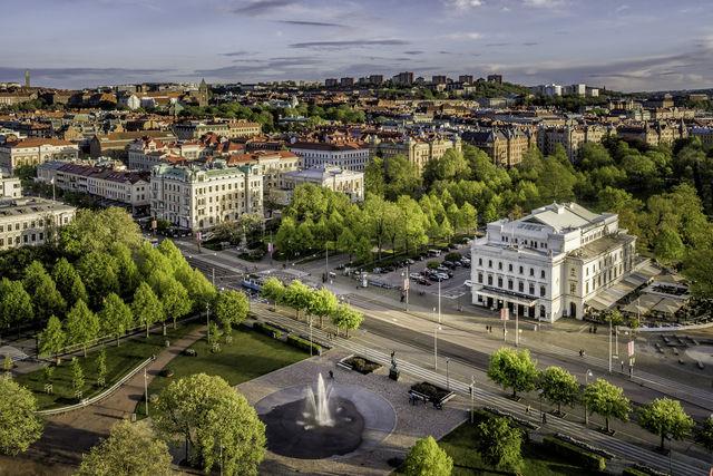 Göteborg Zweden stad