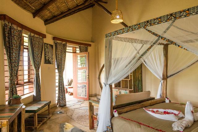 Rondreis Tanzania Lake Manyara bunghalow