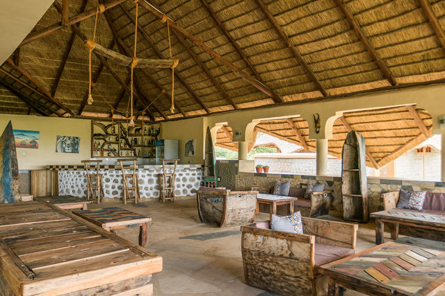 Rondreis Tanzania Lake Manyara lounge