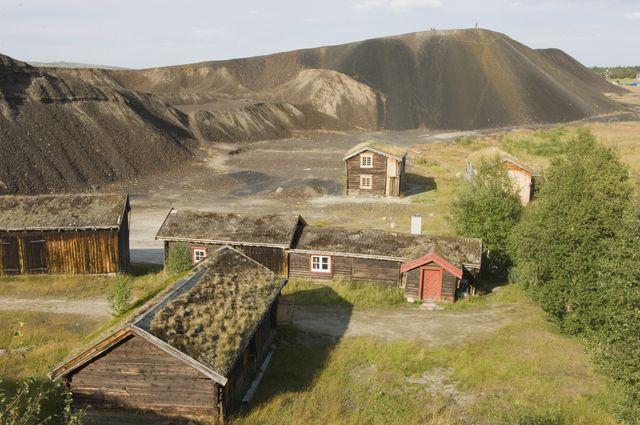 IJzermijnen Røros Trøndelag Noorwegen