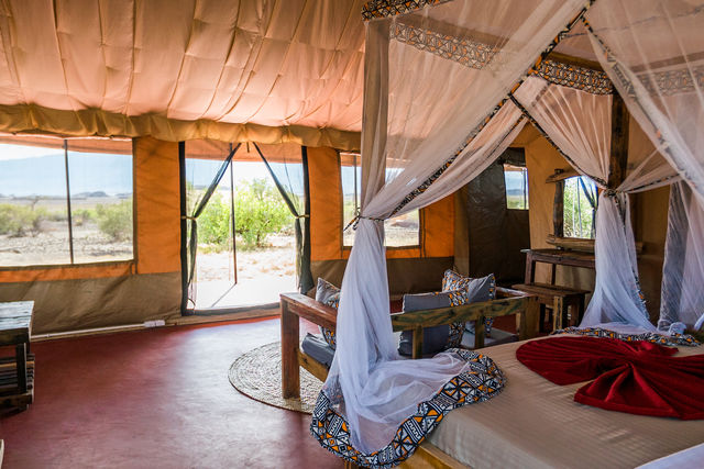 Rondreis Tanzania Lake Natron Comfort tent