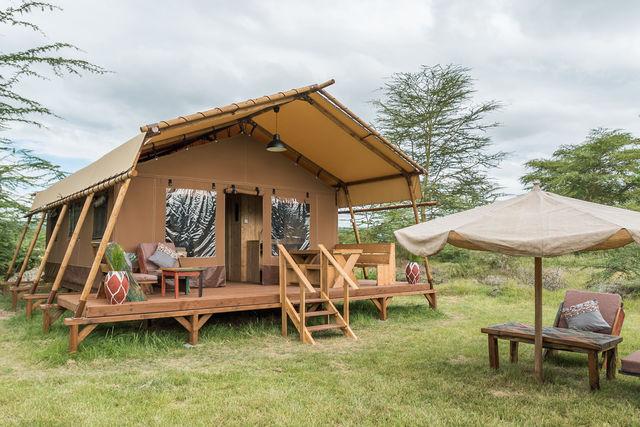 Rondreis Tanzania Lake Manyara luxe tent