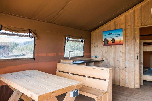 Rondreis Tanzania Lake Natron Glamping tent