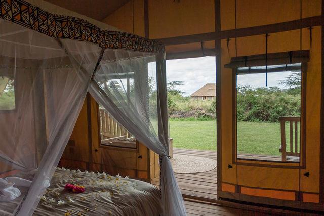 Rondreis Tanzania Lake Manyara tent