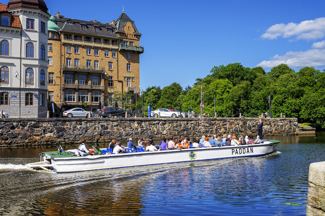 Boot stadtour Göteborg Zweden