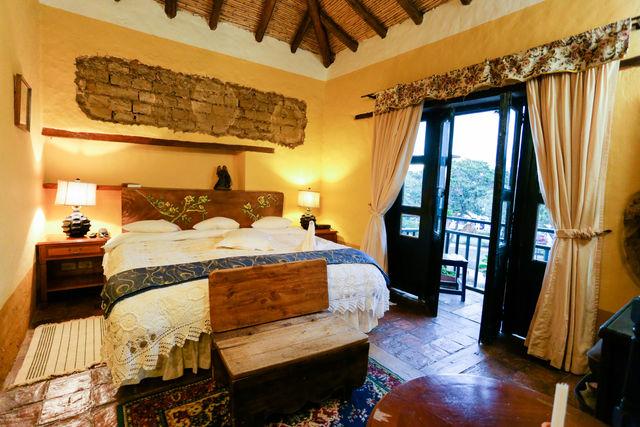 Rondreis Colombia Ricaurte Villa de Leyva Posada de San Antonio suite