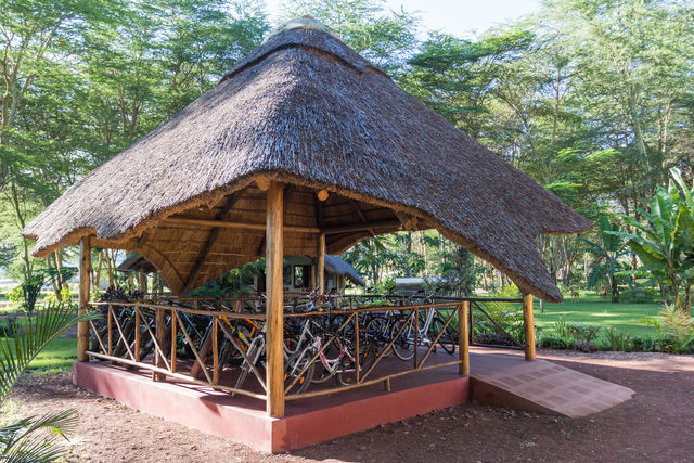 Rondreis Tanzania Lake Manyara fietsen