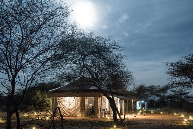 Rondreis Tanzania Serengeti lounge