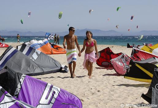 Tarifa strand Andalusië Spanje