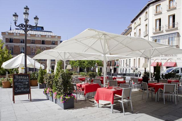 Palacio San Martin Madrid terras