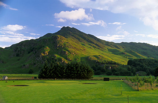 Golfbaan Perthshire Schotland