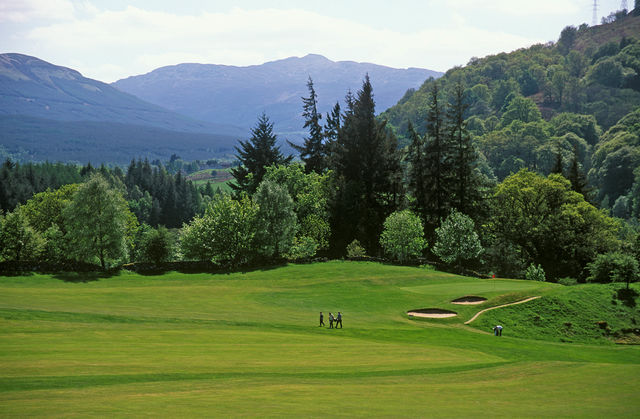 Golfbaan Stirling Schotland
