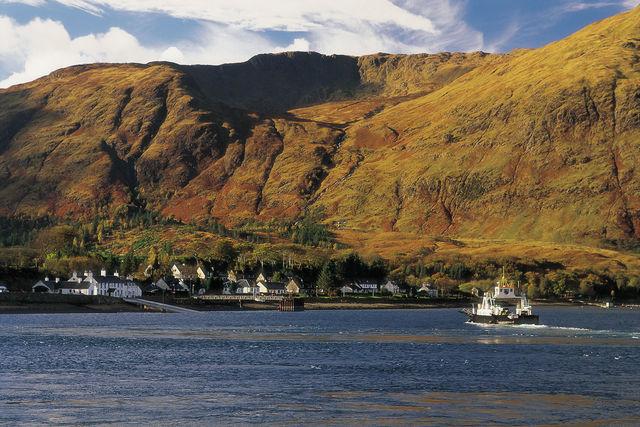 Rivier Loch Linnhe Schotland