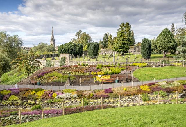 Tuin Perthshire Schotland