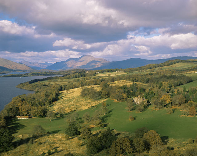 Balloch Glasgow uitzicht Schotland