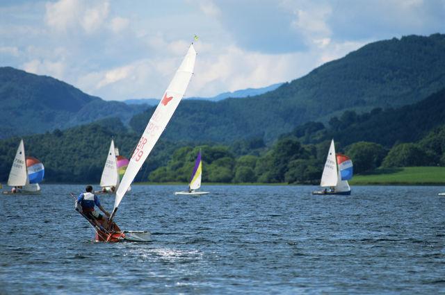 Loch Lomond kitesurfen Schotland